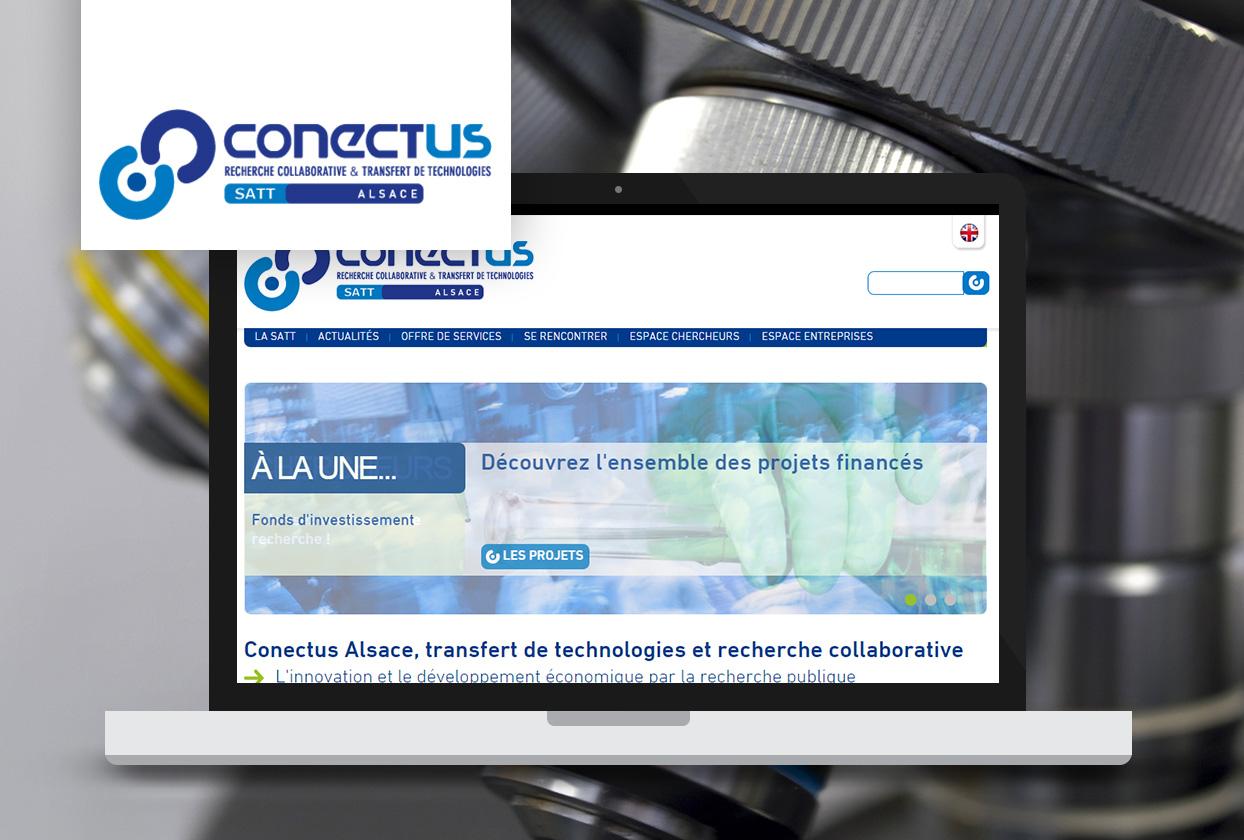 Conectus création de site Tiz