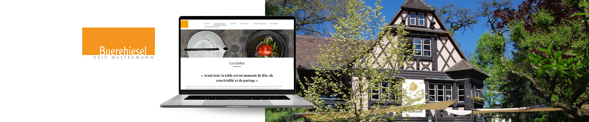 création site internet restaurant buerehiesel