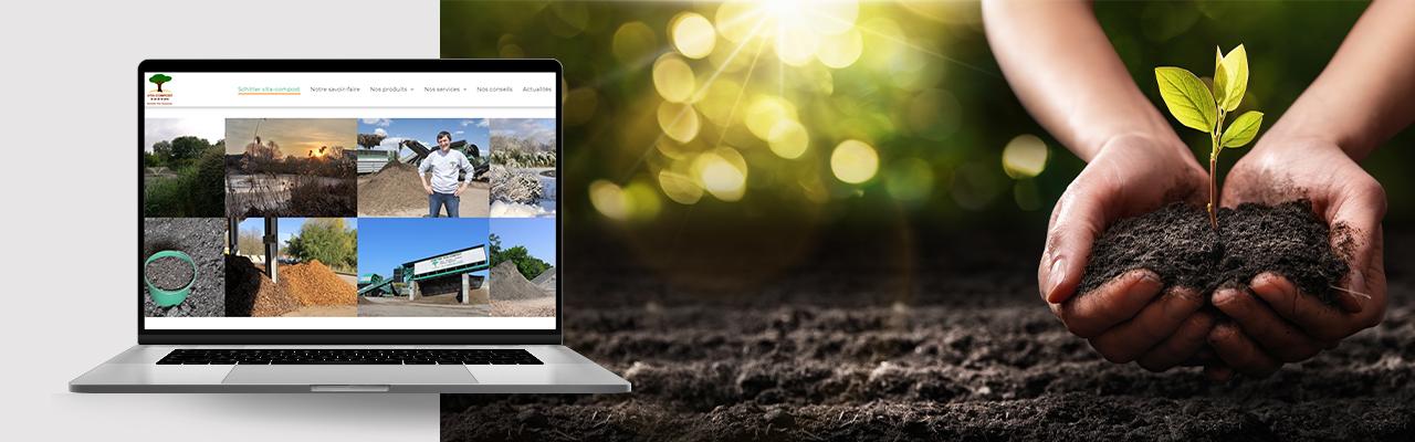 création site internet vita compost