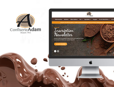 confiserie adam site e-commerce