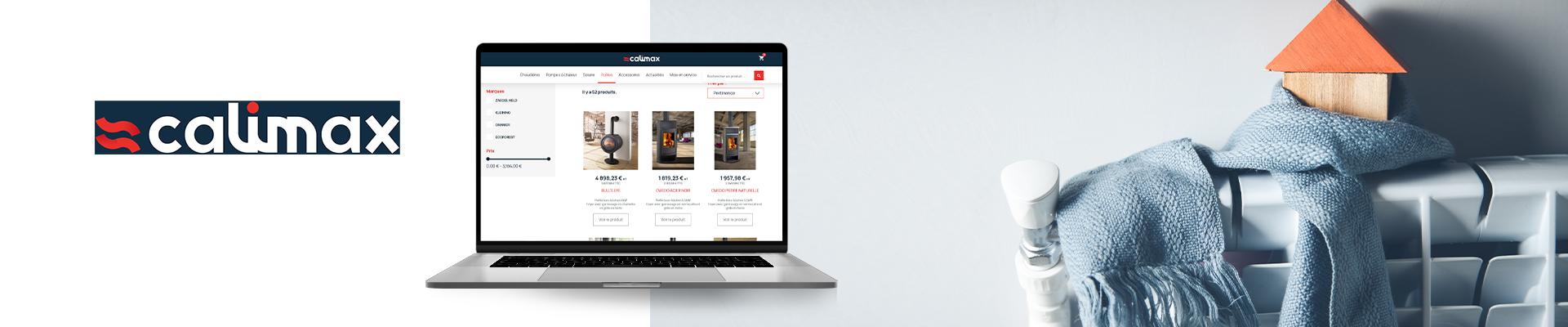 calimax site e-commerce