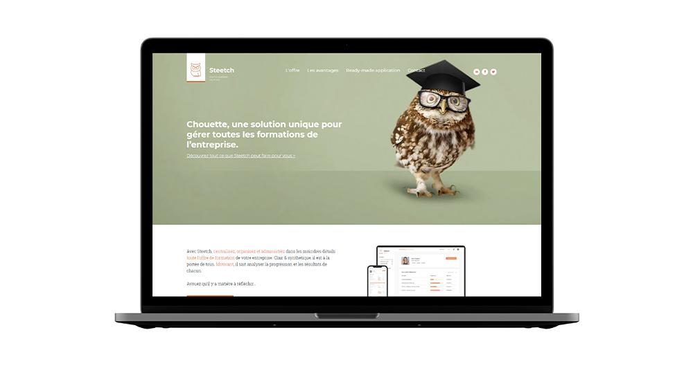 Site web Steetch par Flexmind avec la technologie Duda - Pourquoi se faire accompagner d'une agence pour le Low-Code No-Code ?